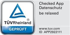 TÜV Rheinland geprüft